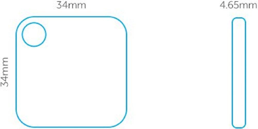 Le combo pack Tile Mate et Tile Slim Trouveur de cl/é Tile Combo Pack Set de 4 dobjets de portefeuille