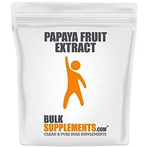Gut Health Shop 41rdjnFISlL._SS300_ Bulksupplements.com Papaya Fruit Extract Powder - Immune Boost - Bone Marrow Supplement - Blood Boost (500 Grams)