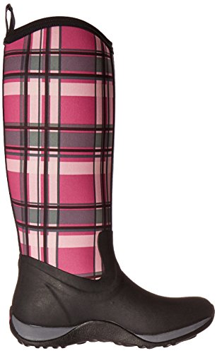 Muck Boot Women's Arctic Adventure Tall Snow Boot, Black/Pink Plaid, 10 US/10 M US by Muck Boot (Image #6)