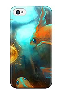 patience robinson's Shop Best New Fish Tpu Case Cover, Anti-scratch Phone Case For Iphone 4/4s 5951074K16604300