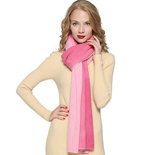ZORJAR Women's Men Fashion Long Shawl Plush Knit Winter Warm Large Scarf 86