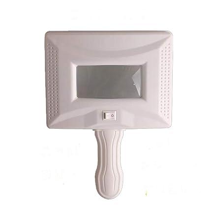 JL SP024 Lámpara De Madera Lupa 100 Veces Analizador De Aumento De Rayos UV Para La ...