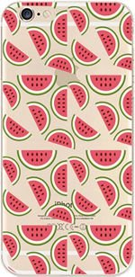(iPhone 6 Plus Case, DECO FAIRY Protective Case Bumper[Scratch-Resistant] [Perfect Fit] Translucent Silicone Clear Case Gel Cover for iPhone (watermelon super overload for iPhone 6)