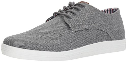 Ben Sherman Men's Payton Oxford, Grey Linen, 10 M US