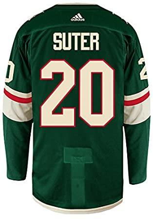 best website 60ef2 50e1e Amazon.com : adidas Ryan Suter Minnesota Wild Authentic Home ...