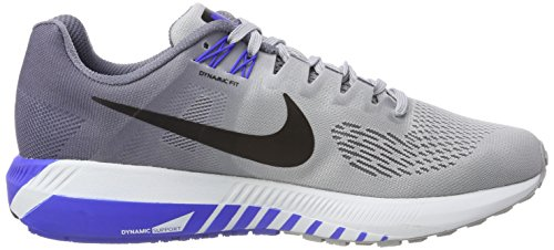 Black 003 Light Wolf Nike Scarpe Uomo 21 Air Running Zoom Structure Grey Multicolore HqFwvC7