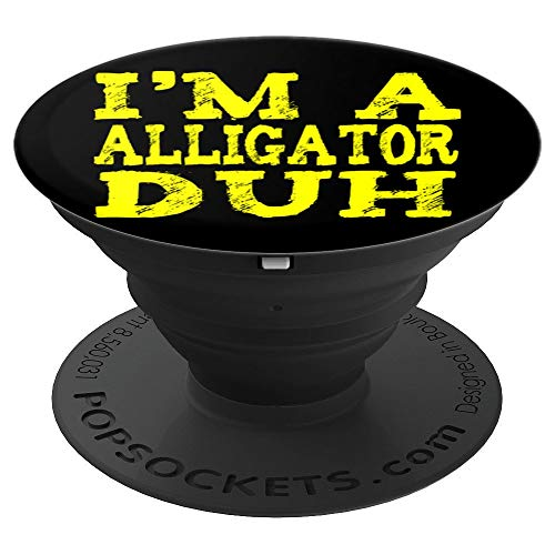 EASY Alligator HALLOWEEN COSTUME Gifts Lazy Last Minute PopSockets Grip and Stand for Phones and Tablets -