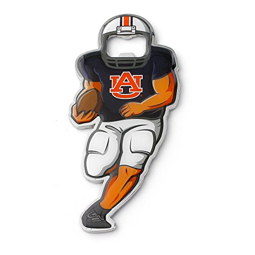 NCAA Auburn Tigers Player Bottle Opener Magnet (Opener Bottle Auburn Tigers Ncaa)