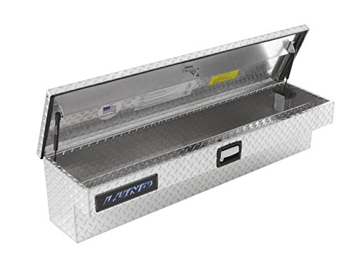 Lund 9760 60-Inch Aluminum Side Mount Box, Diamond Plated, Silver