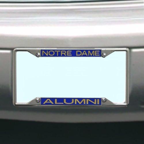 (NCAA Notre Dame Fighting Irish License Plate Frame Alumni )