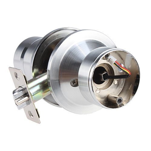 SoHoMiLL  YL 99 Keyless Electronic Keypad Lock, Adjustable latch backset 2 3/8-Inch to 2 3/4-Inch , Satin Nickel