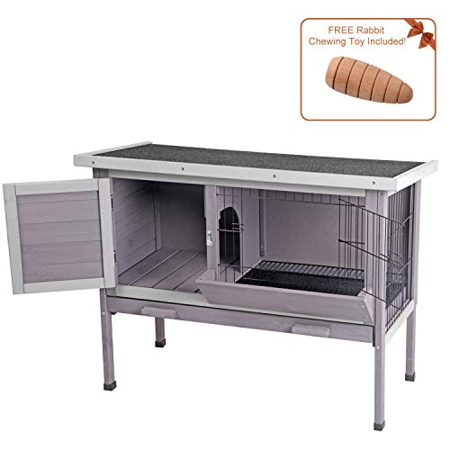 Aivituvin Outdoor Rabbit Hutch, Wooden Bunny Cages for sale  Delivered anywhere in USA