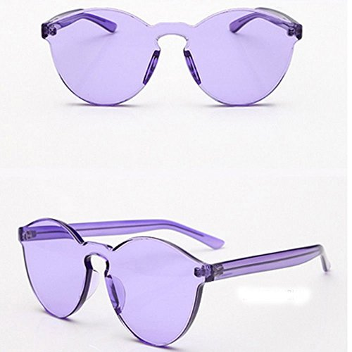 AMAZZANG-Women Men Plastic Sunglasses Shades Hippie Large Rimless Frameless Fashion ON - Fastrack Sunglasses Buy Online