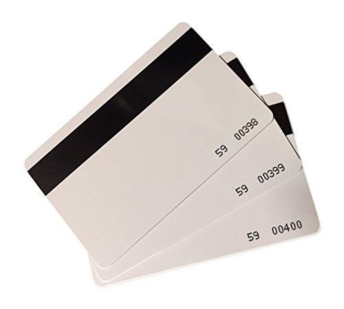 10 pcs CR80 Magstripe 26 Bit Proximity Cards Hi-co Weigand Prox Blank Printable magnetic strip Swipe Cards Compatable with ISOProx 1386 1326 H10301 format readers. Works with most security systems