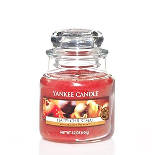 【格安saleスタート】 Yankee 3.7oz Candle 3.7oz Small Yankee Jar Happyクリスマス Small B0776ZKNRL, アンバージャック:e70a09a4 --- a0267596.xsph.ru
