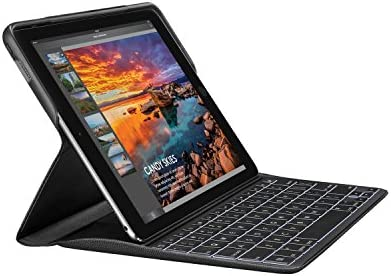"""Logitech CREATE Backlit Keyboard Case with Smart Connector for iPad Pro 9.7"""" ONLY! (will not fit other models) , Black"""