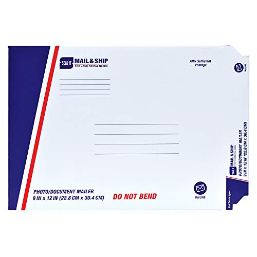 Seal-It Mail & Ship Photo/Document Mailer, Chipboard, 9