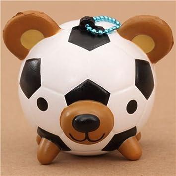 Lindo colgante Squishy para móvil balón fútbol osito kawaii ...