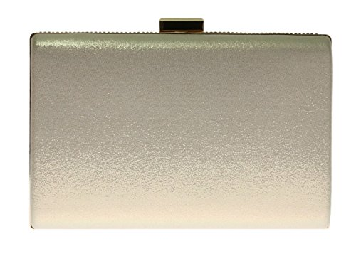 Handbag Case Evening Bag Shimmer Wedding HandBags Diamante Encrusted Clutch Girly Hard Gold Satin Party Luxury wOHXvqZ