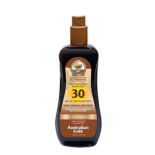 Australian Gold Spf 30 Spray Gel With Bronzer
