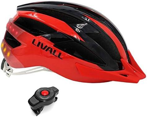 LIVALL MT1 Rojo y Negro - Talla L: 58-62 cm. Casco de Bicicleta ...