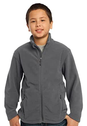 Amazon.com: Port Authority Youth Value Fleece Jacket-M