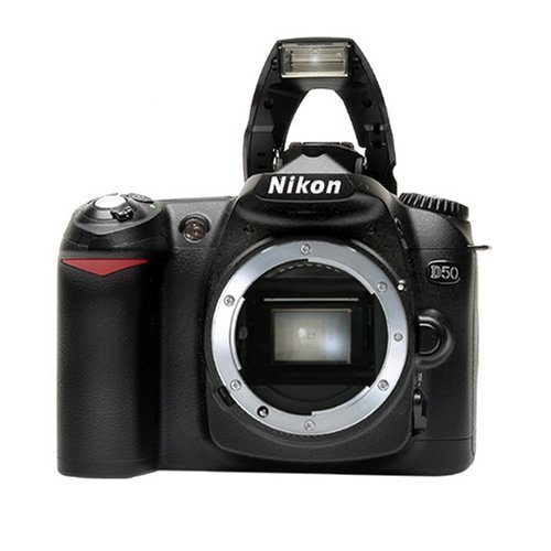 Nikon D50 6.1MP Digital SLR Camera with 28-80mm f3.3-5.6G AF Nikkor...