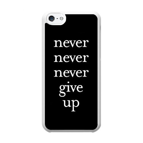 Coque,Coque iphone 5C Case Coque, Failure Is Not An Option Cover For Coque iphone 5C Cell Phone Case Cover blanc