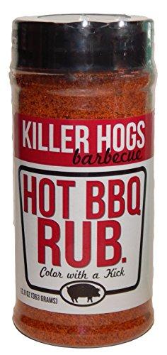 Killer Hogs Hot BBQ Rub 12.8 Ounce