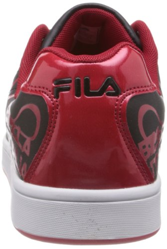1e2f266403c7 Fila Men Flow Ii Black and Red Sneakers -11 UK India (45 EU)  Buy Online at  Low Prices in India - Amazon.in