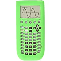 Guerrilla Silicone Case for Texas Instruments TI-89 Titanium Graphing Calculator, Green
