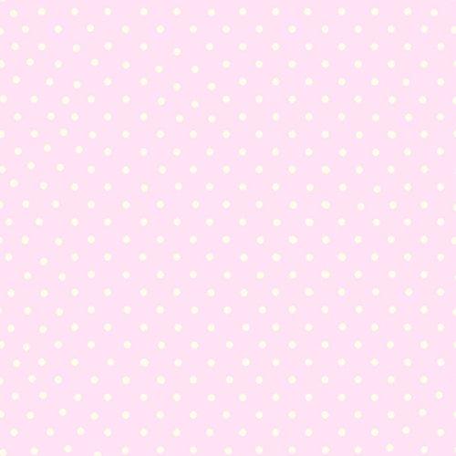 - Polka Dot Wallpaper - Pink and White - 6321