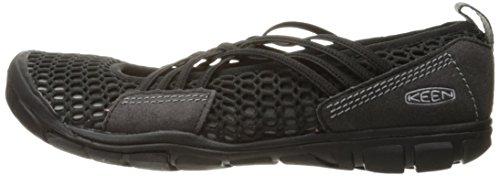 KEEN Women's CNX Zephyr Criss Cross Hiking Shoe, Black/Gargoyle, 10 M US by KEEN (Image #5)
