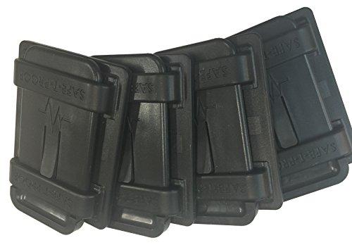 Safe-T-Proof STP-MP-202-20-00-BL Bulk 4'' x 5'' Fasteners, Black by Safe-T-Proof