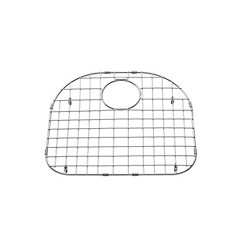 American Standard 8449.232100D.075 Portsmouth 23x21 D-shaped Sink Grid, Stainless Steel