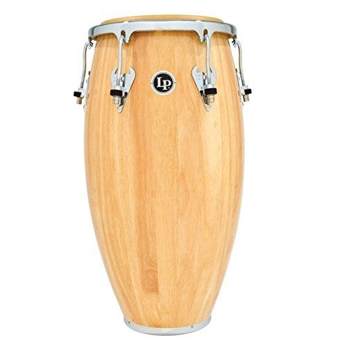 LP Matador M752S-AWC 11 3/4'' Wood Conga (Natural/Chrome) by Latin Percussion