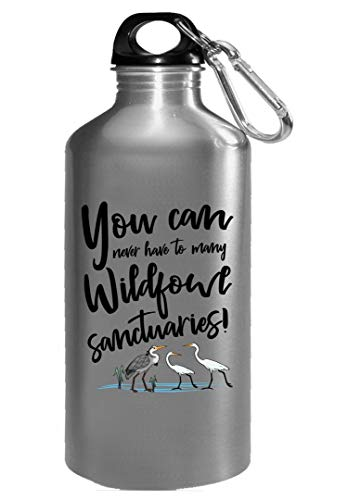 (You can never have too many wildfowl sanctuaries - Water Bottle)