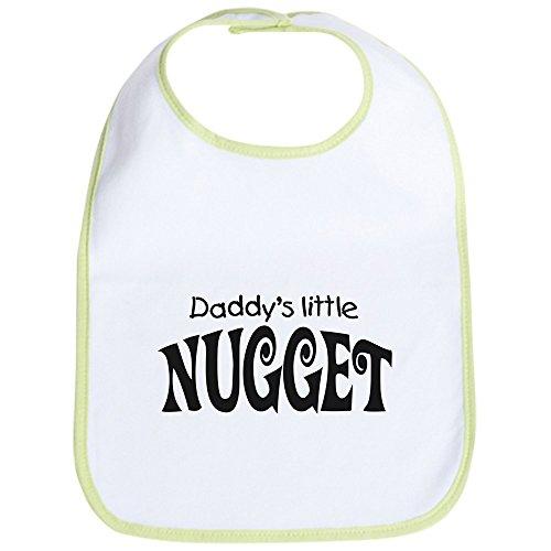 CafePress - 'Daddy's Little Nugget' Bib - Cute Cloth Baby Bib, Toddler ()
