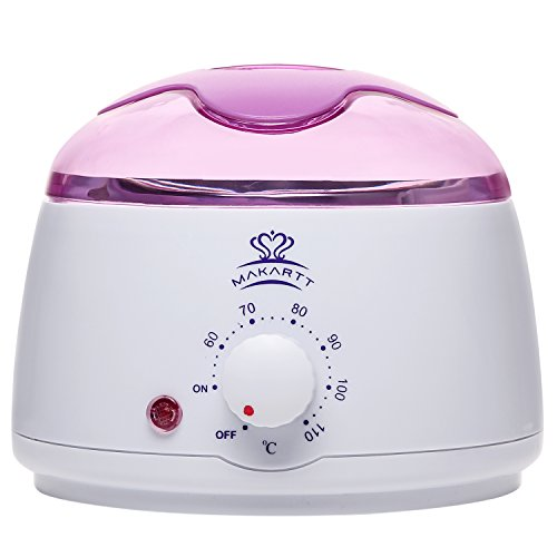 MAKARTT Wax Warmer Melter Electric Hair Removal 14 oz Easy Waxing Warmers Melting Pot Depilatory Machine