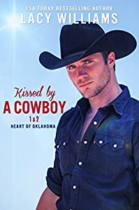 Kissed By A Cowboy  by Lacy Williams ebook deal