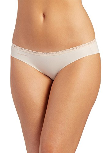 UPC 037882504388, Jockey Women's Underwear Wonder Edge Invisible Bikini, shifting sand, M