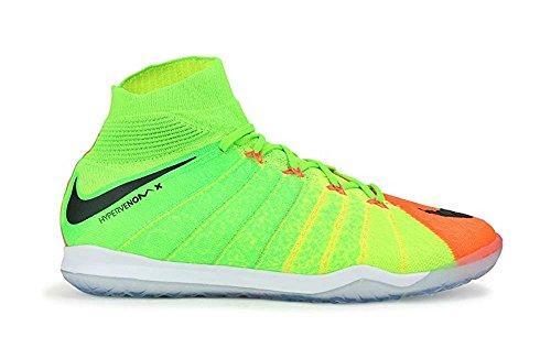 非公式保存する特別なNikeメンズHypervenomx Proximo IIダイナミックフィットインドアサッカーシューズElectric Green/Black / Hyper Orange Soccer Shoes – 12.5 A