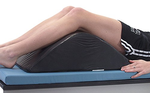 AliMed Deluxe Knee Bolster, Black Conductive, 16 x 7-1/2 ...