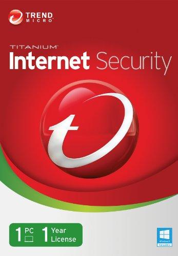 Trend Micro Titanium Internet Security 2014, 1 User [Old Version] (Eset 1 User 2014)