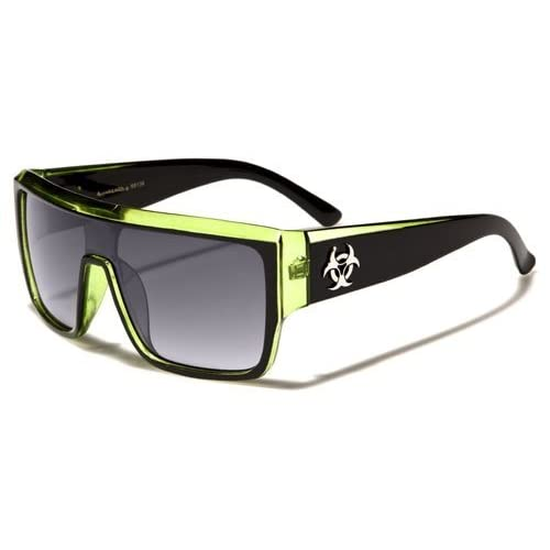 Biohazard Mens 2013 Sports OVersized Goggle Style Sunglasses - Several Colors Available!