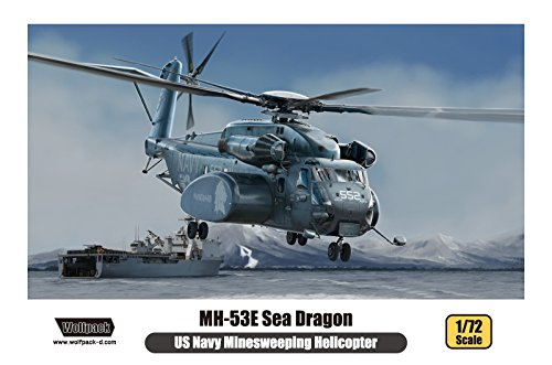 - WPD17206 1:72 Wolfpack MH-53E Sea Dragon [MODEL BUILDING KIT]