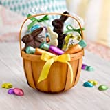 Lake Champlain Country Bunny Chocolate Easter Basket, 2.6 Pounds