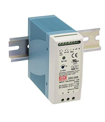 (DIN Type Security Power Supply 59.34W DRC-60A Meanwell AC-DC SMPS DRC-60 Series MEAN WELL Switching Power Supply)