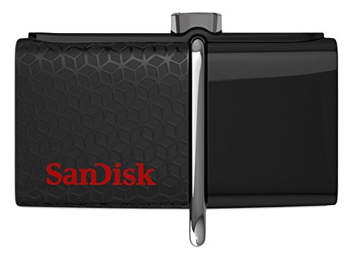 SanDisk 64GB Ultra Dual USB Drive 3.0 - SDDD2-064G-GAM46 (Sandisk 64gb Micro Flash Drive)