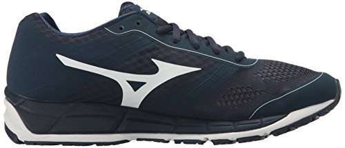Mizuno Mens Synchro MX Baseball Shoe Navy White UAGoFfPG